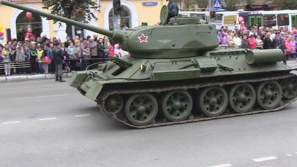 В Бежицком районе Брянска установят памятник с танком Т–34