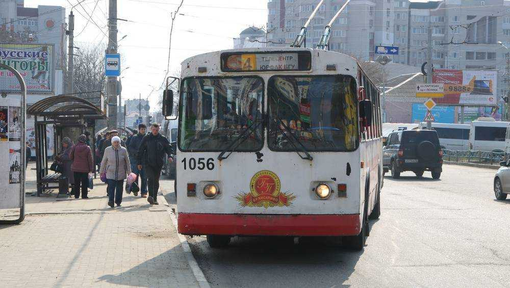 В Брянске троллейбус №4 свяжет юрфак БГУ и бульвар Щорса