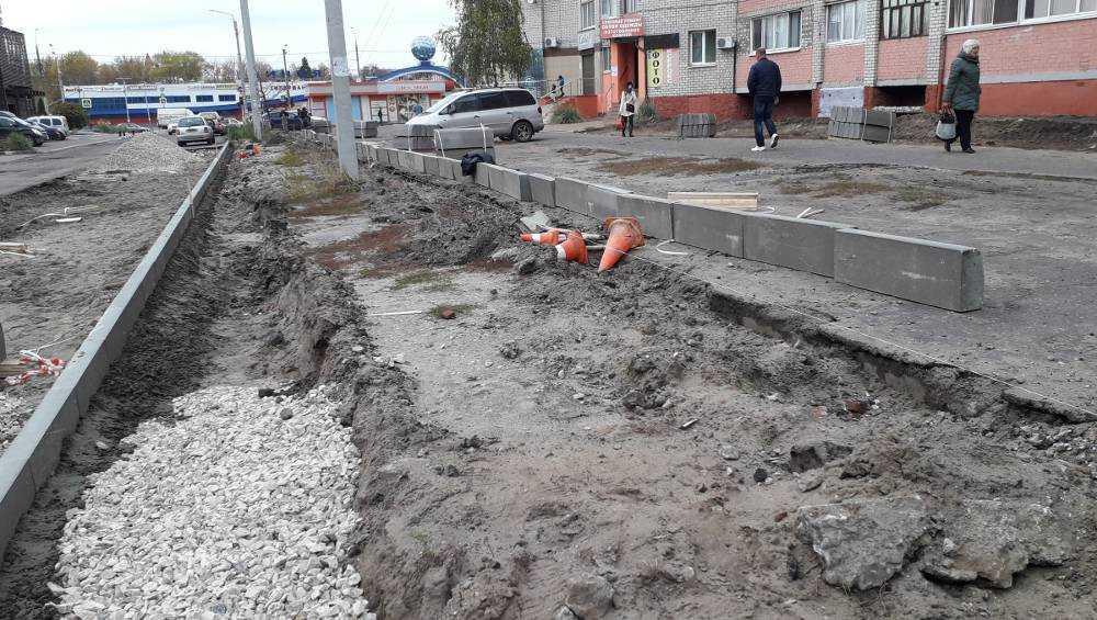 В Брянске возле гимназии № 5 расширят дорогу
