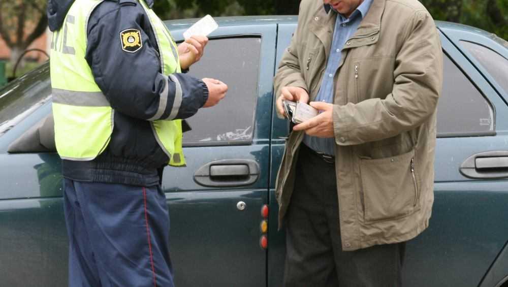 В Клинцах оштрафовали брянца за попытку подкупить автоинспектора
