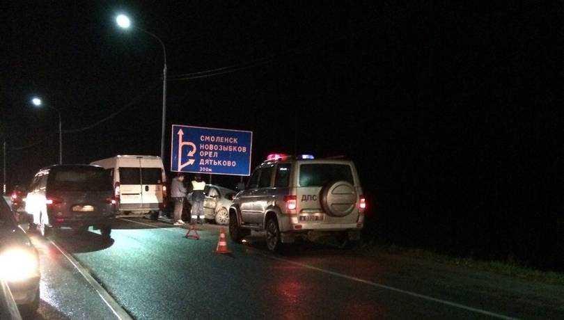 Под Брянском случилось серьезное ДТП возле объездной дороги