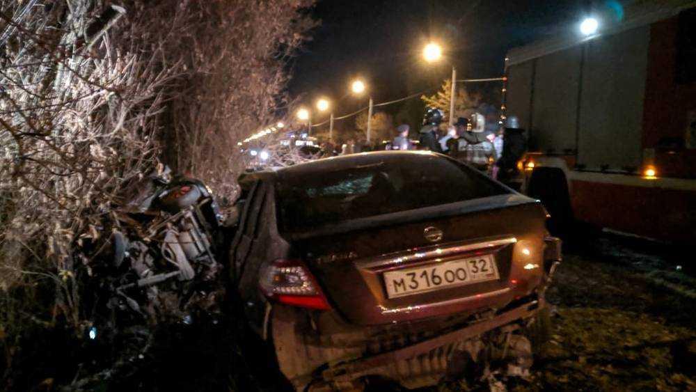 В Брянске в аварии погибли мать и дети 2 и 4 лет