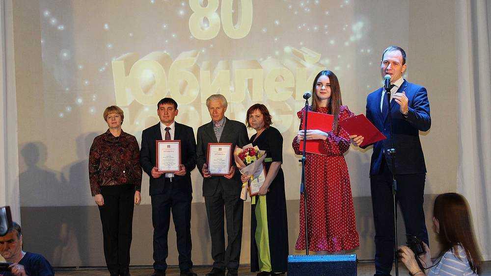 Газету «Деснянская правда» поздравили с 80-летием
