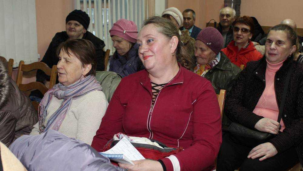 Александр Коробко встретился с членами брянского отделения ВОС