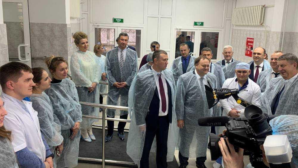 В Клинцах Брянской области открыли современный сосудистый центр