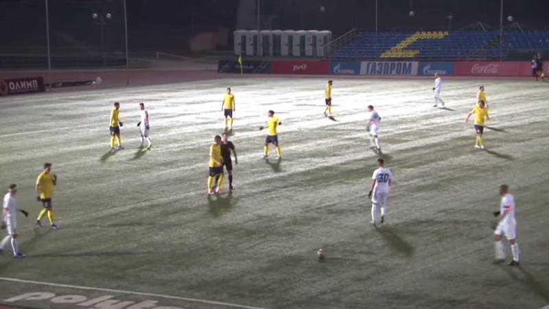 Брянское «Динамо» на выезде выиграло у московского «Строгино»