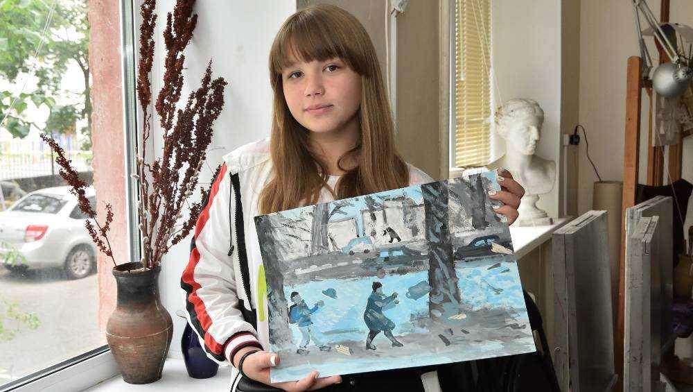 Работы двух юных брянских художниц попали в Третьяковскую галерею