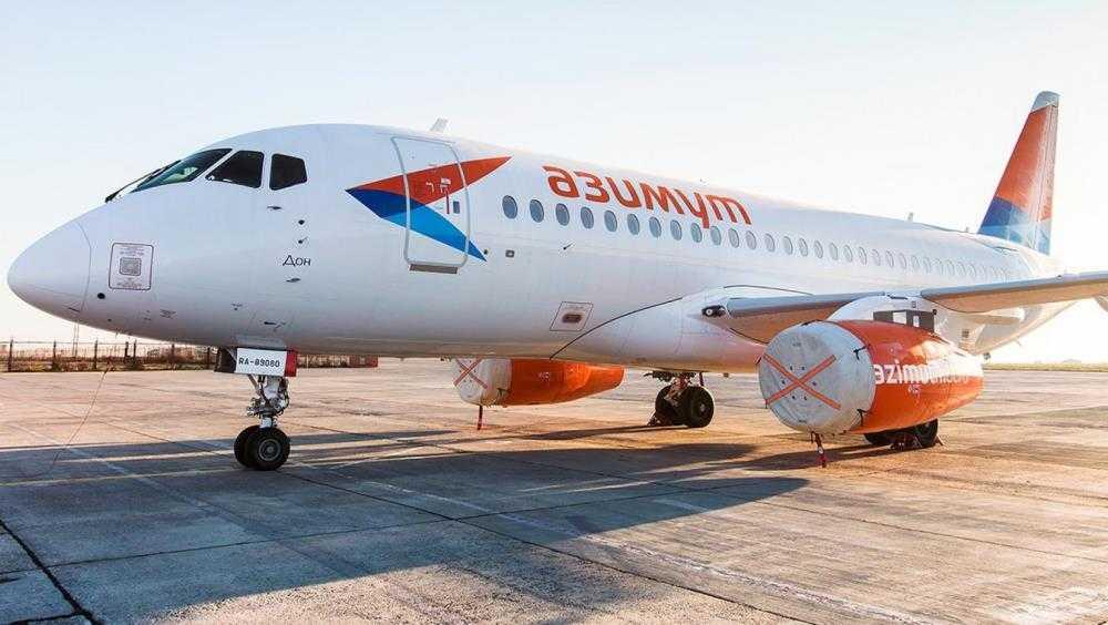 Компания «Азимут» начнёт выполнять рейсы из Брянска в Питер с 3 января