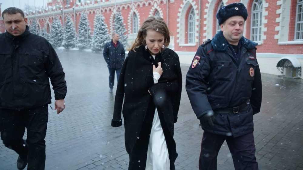 Дурдом на «Первом» с участием Собчак
