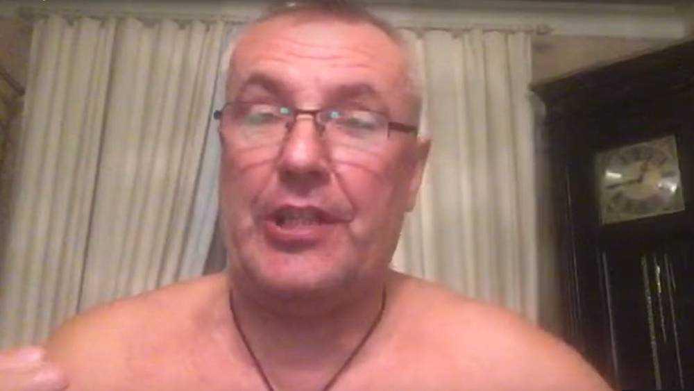 Брянский бизнесмен Коломейцев оголился в истерическом шоу