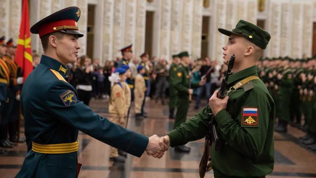 Брянские призывники пополнили знаменитый Преображенский полк