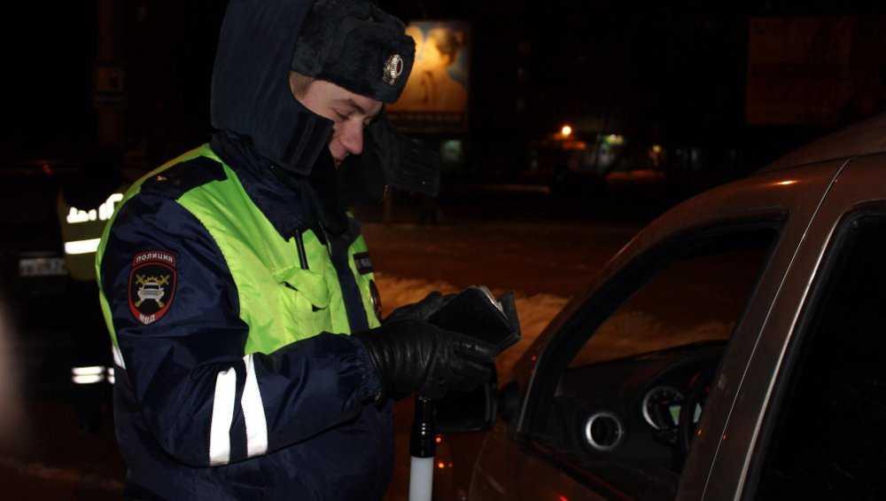 После полуночи в Брянске на Красноармейской будет проверка водителей