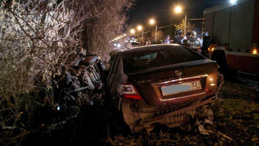 Брянская полиция начала поиск свидетелей смертельного ДТП на Речной