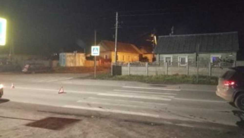В Брянске Volkswagen на «зебре» покалечил 33-летнюю женщину