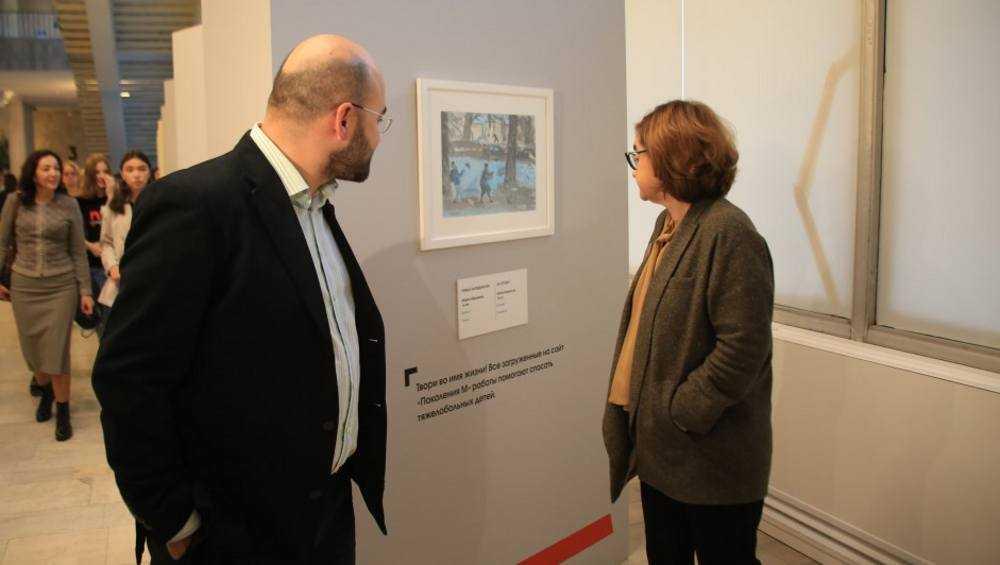 Работы юных брянских художниц попали в Третьяковскую галерею