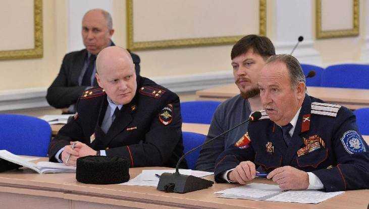 Брянские казаки снова избрали атаманом депутата Василия Игрунёва