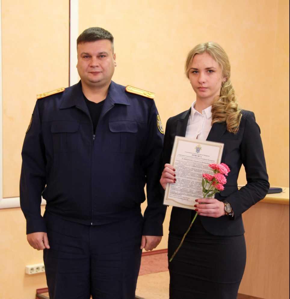 Молодые брянские следователи присягнули на верность закону