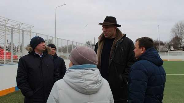 Николай Валуев проинспектировал строительство ФОКОТа в Стародубе