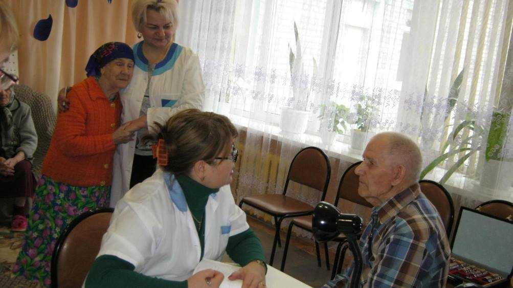 В Новозыбковском доме-интернате завершилась диспансеризация