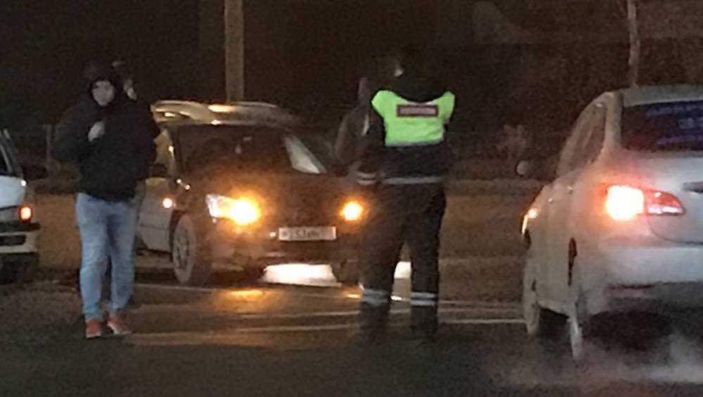 В Брянске на улице Калинина произошло серьезное ДТП