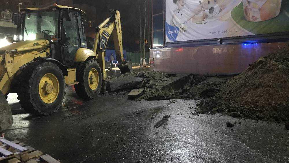 В Брянске сделали подкоп под гипермаркет «Линия»
