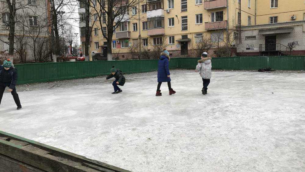 В Брянске открылись первые народные катки