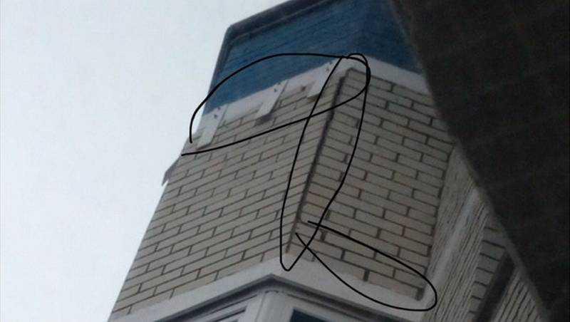 В микрорайоне «Речной» в Брянске треснула стена многоэтажки