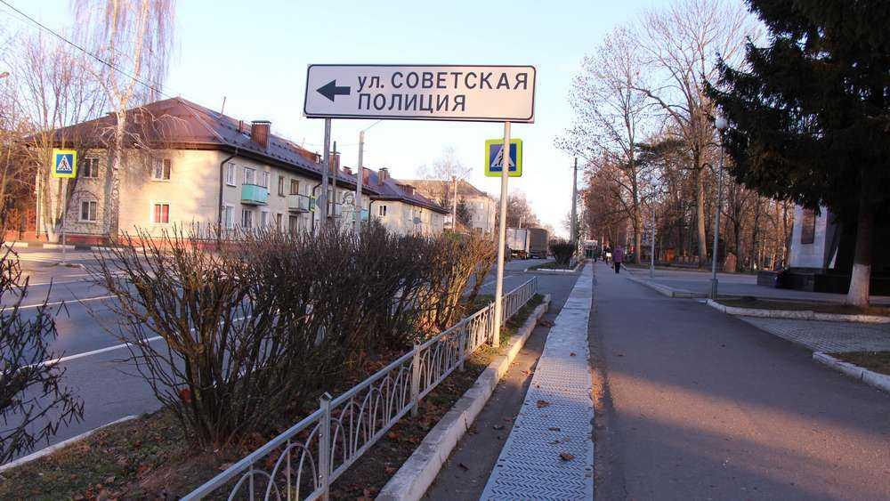 Карачев стал знаменит улицей Советской полиции