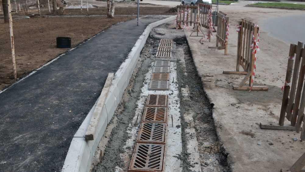 В Брянске построили ливневую канализацию в переулке Пилотов
