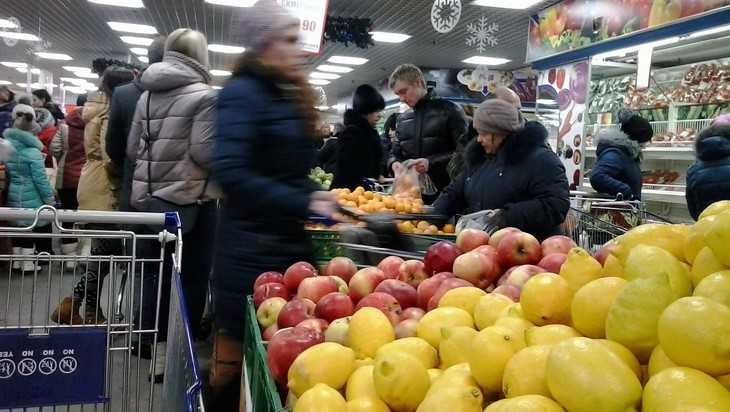 В Брянской области подешевела продуктовая корзина