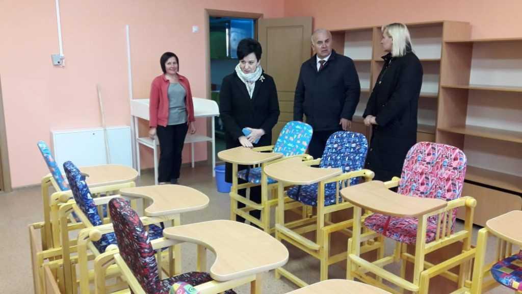 Валентина Миронова посетила социальные объекты в Сураже в рамках реализации нацпроектов