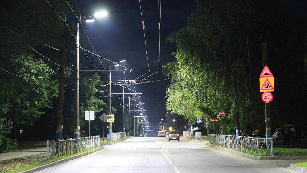 Модернизация уличного освещения в Брянске продолжится в 2020 году