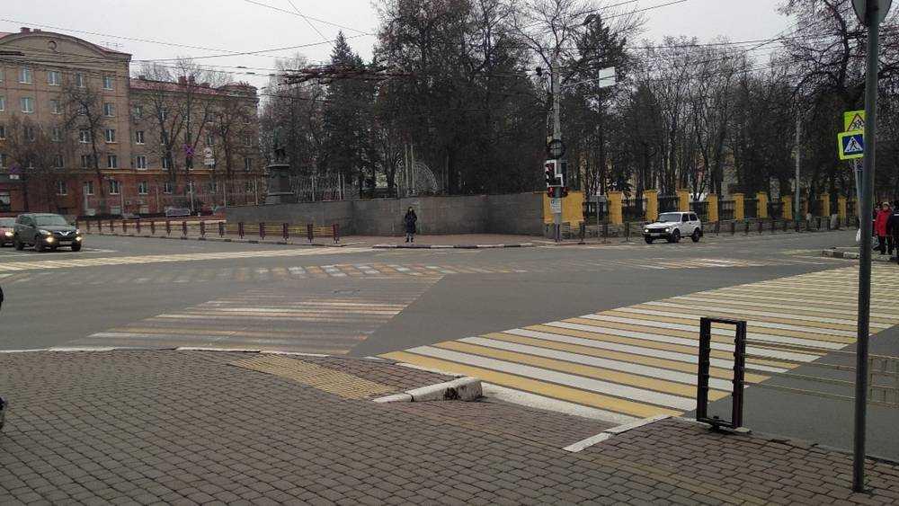 В Брянске началась истерика из-за разметки на проспекте Ленина