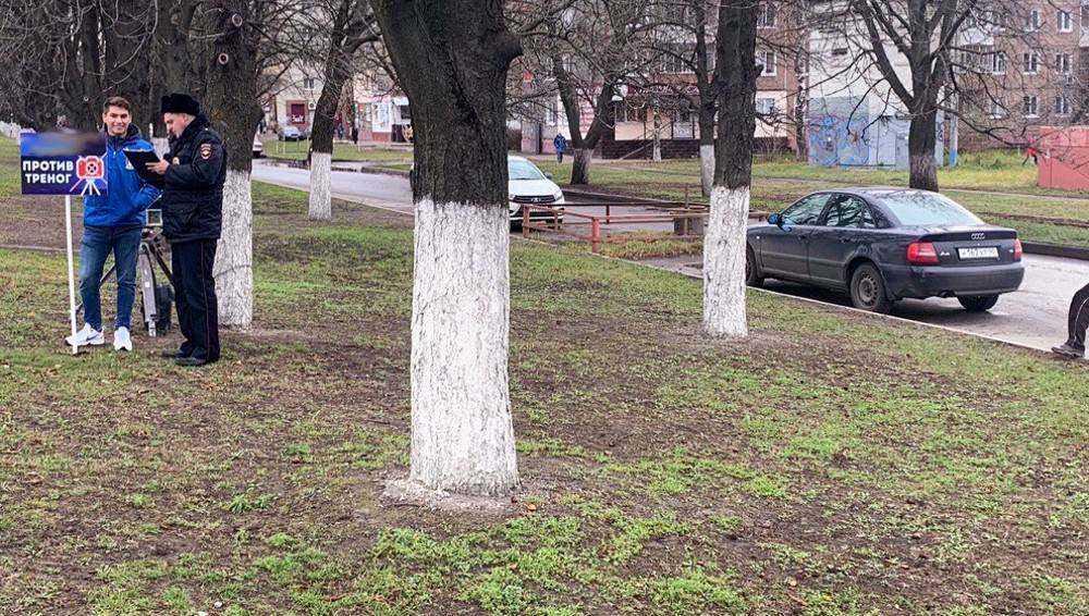 В Брянске полицейские спасли от активистов скрытые камеры фотофиксации