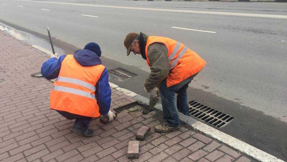 Брянские рабочие предотвратили «апокалипсис» на проспекте Ленина