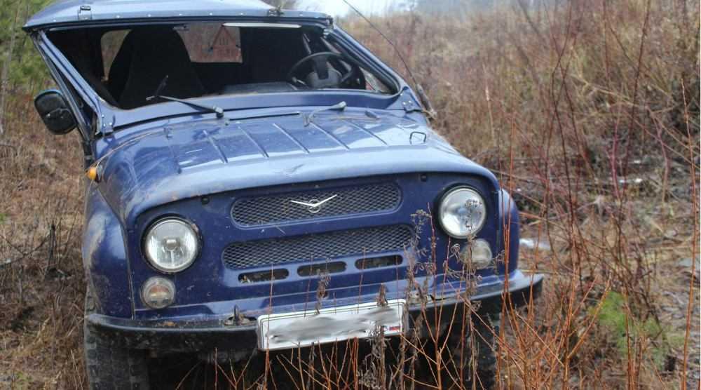 В Любохне в перевернувшемся «уазике» погиб 37–летний водитель