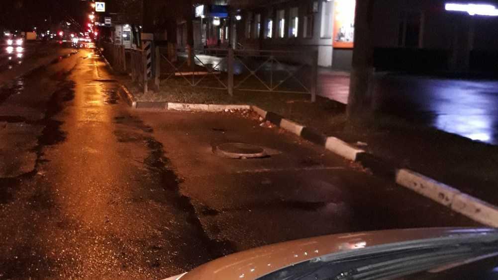 В Брянске водителей предупредили о ловушке возле остановки «Берёзка»
