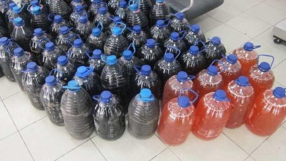 Брянские таможенники задержали молдованина с 240 литрами вина