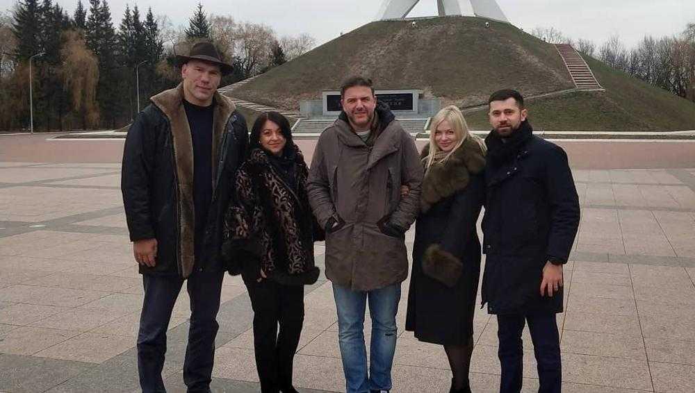 Николай Валуев показал Максиму Виторгану партизанский Брянск