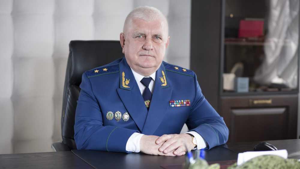 Прокурора Брянской области поздравили с 59-летием