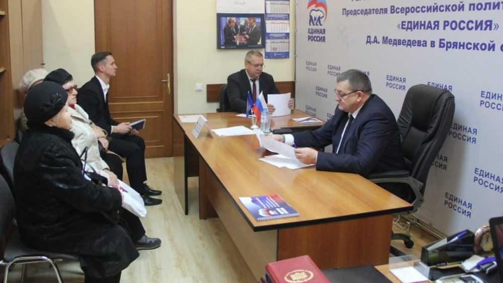 Руководители Брянской области приняли участие в Единой неделе приема граждан