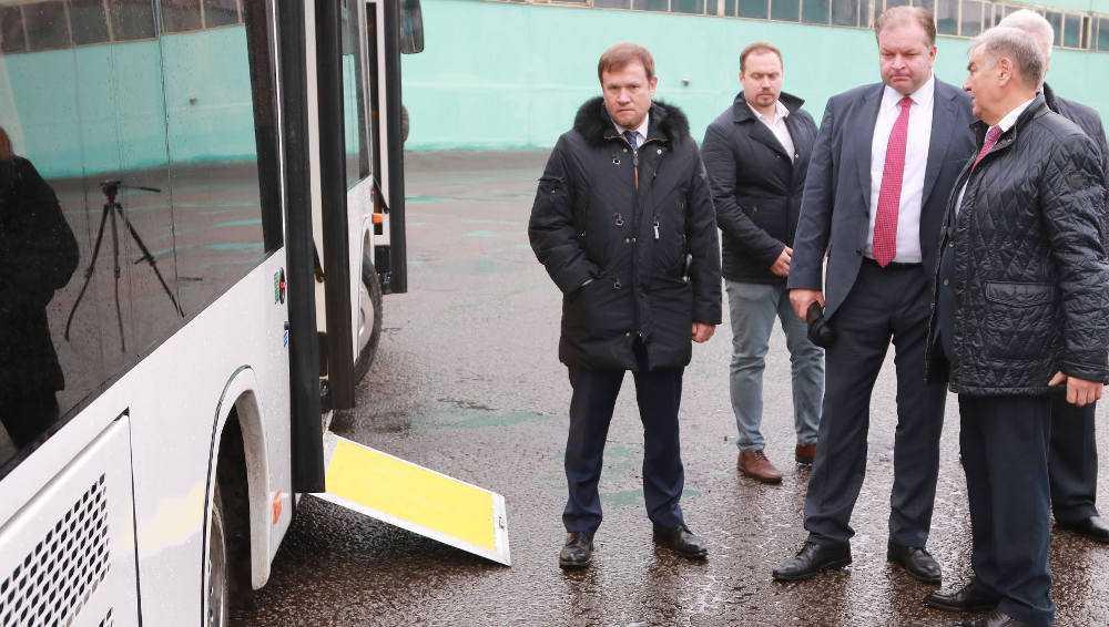 Заместителю министра транспорта понравились брянские автобусы