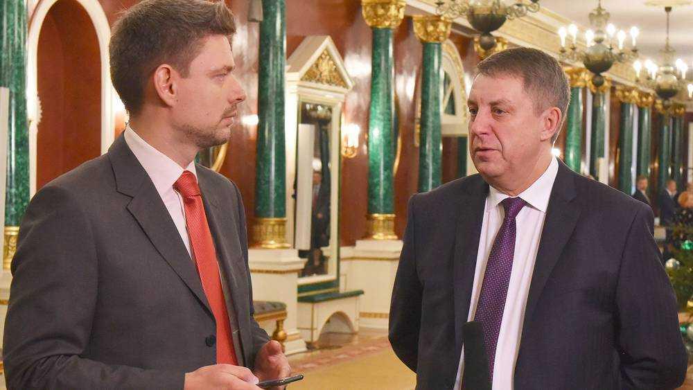 Брянский губернатор Богомаз дал интервью телеканалу «Россия 24»