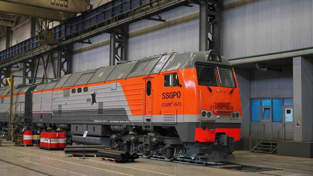 Брянский магистральный тепловоз будет перевозить железную руду в Казахстане