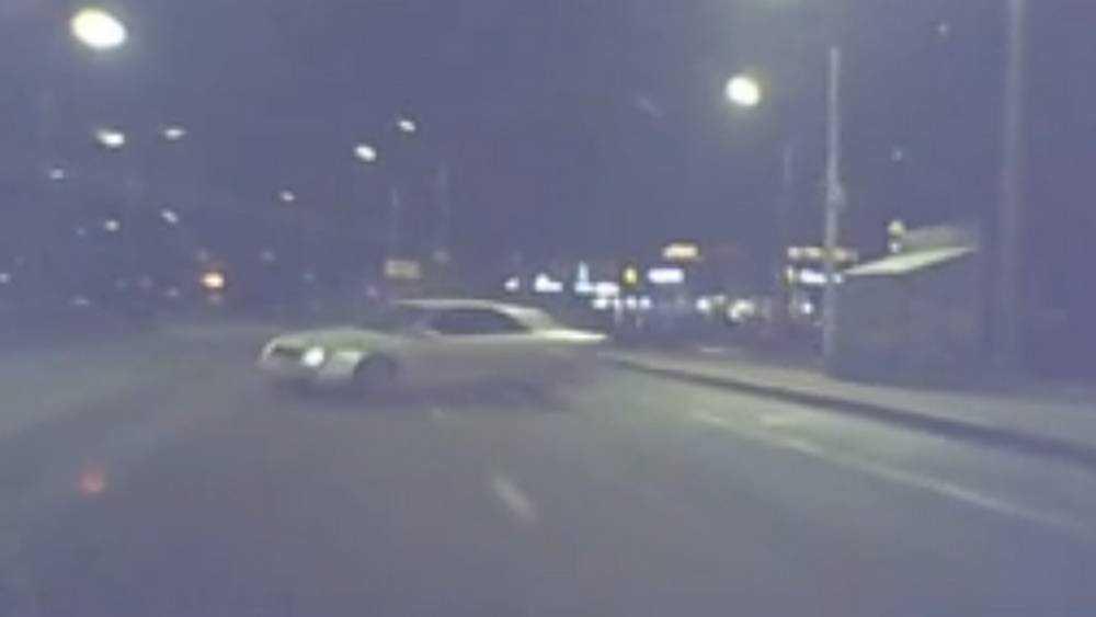 В Брянске опубликовали видео крупного ДТП на Кургане Бессмертия