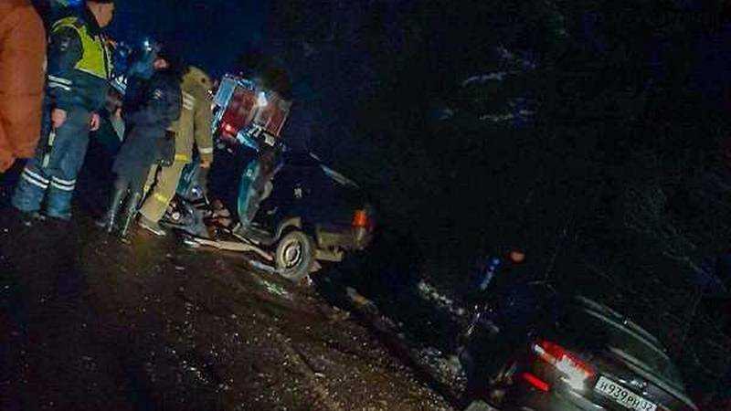 В поселке Климово два человека погибли в жутком ДТП