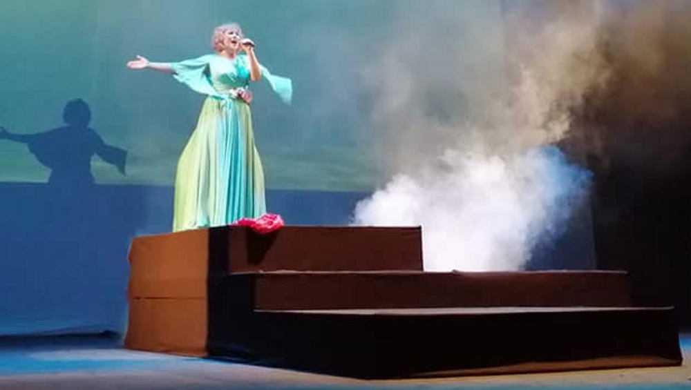 На сценебрянского драмтеатра прошел бенефис Марины Финогеновой