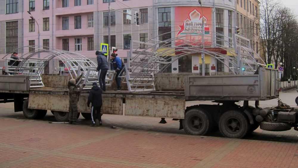 В Брянске на бульваре Гагарина построят коридор из «арок желаний»