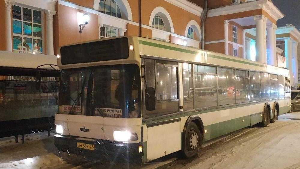 Брянцы пожаловались на отсутствие транспорта вечером