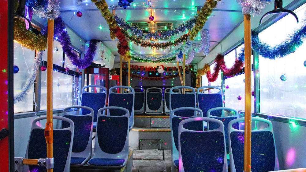 В новогоднюю ночь брянцев будут возить автобусы